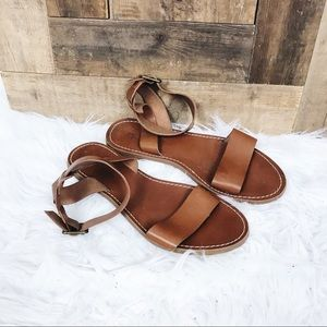 Madewell Strappy Leather Sandals